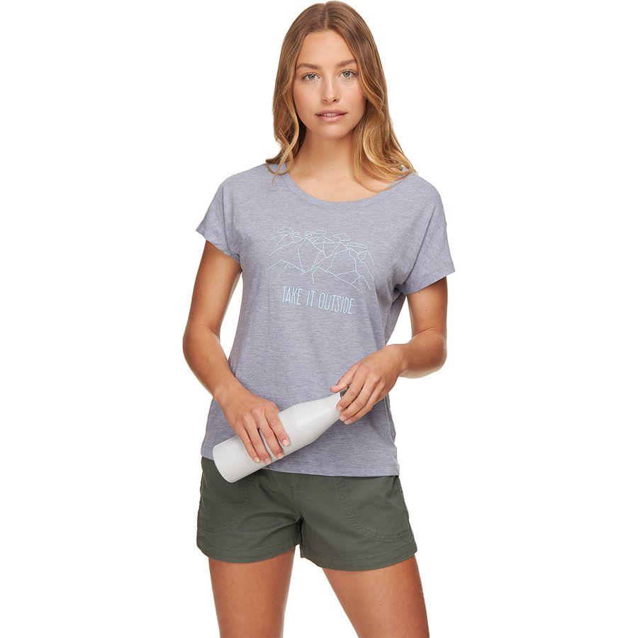Columbia High Dune Short-Sleeve T-Shirt - Womens