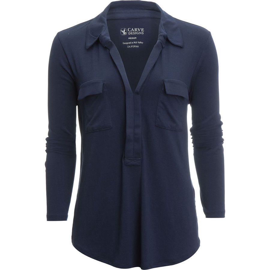 Carve Designs Bodega Pullover Shirt - Womens