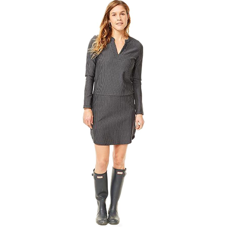 Carve Designs Arapahoe Long-Sleeve Dress - Womens