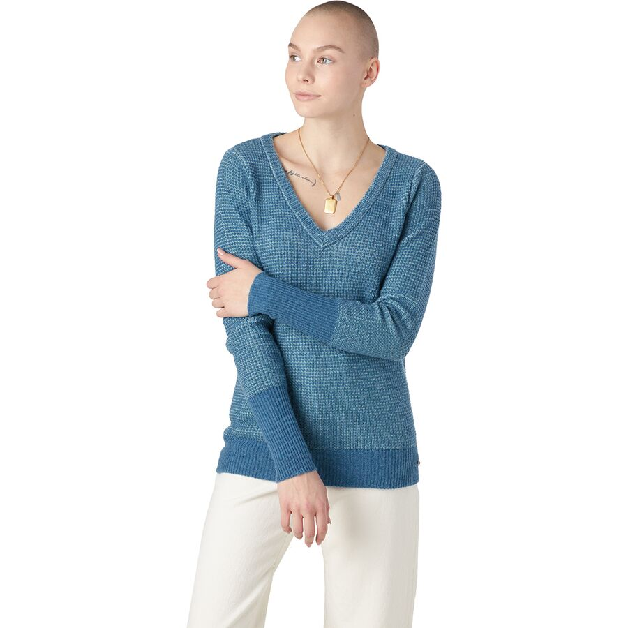Carve Designs Maxwell V-Neck Sweater - Womens