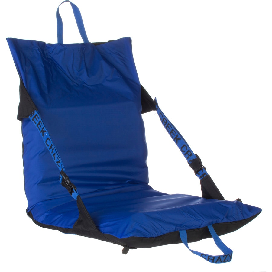 Delicieux Crazy Creek   Air Chair Compact Camp Chair   Black/Royal Blue