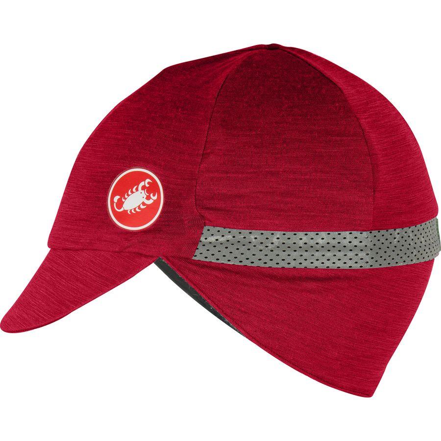 be3df716c48e4 Castelli - Risvolto Winter Cap - Ruby Red