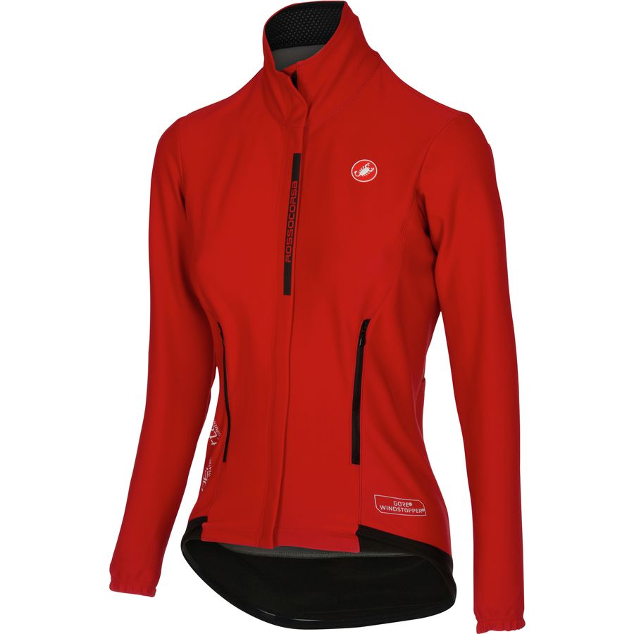 ... Castelli - Perfetto Jersey - Womens - Red amazing selection ac190 0ee5d  ... 39506eb40