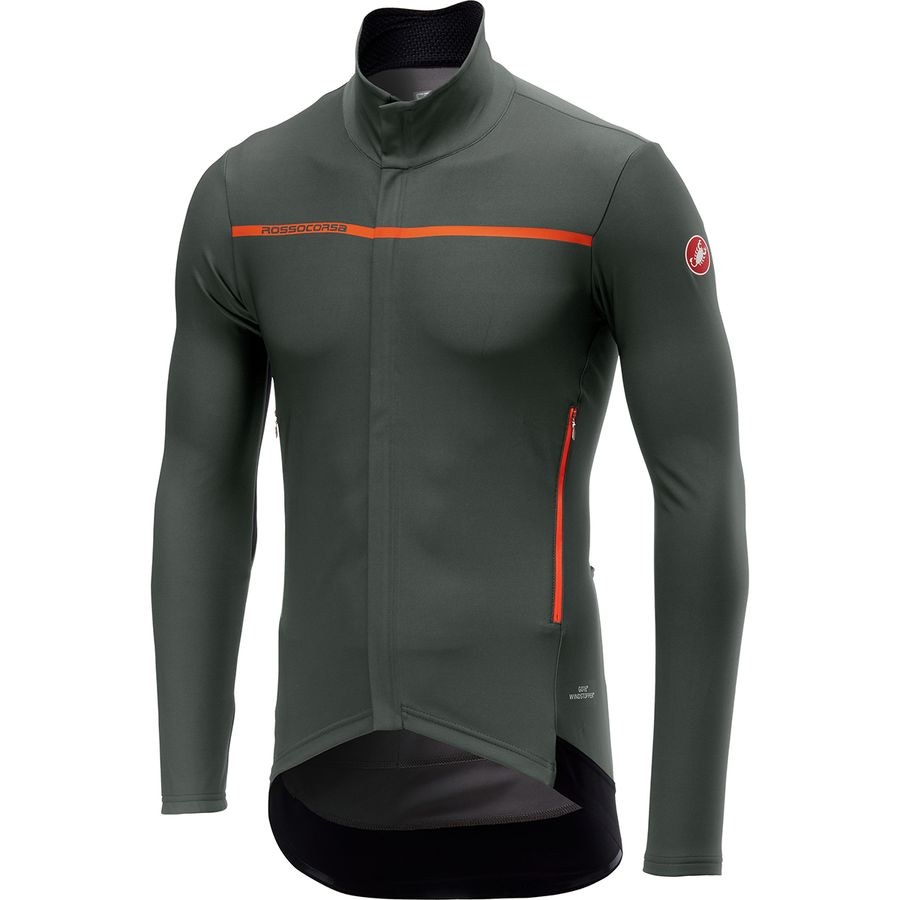 f2f208574 Castelli - Perfetto Long-Sleeve Jersey - Men s - Forest Gray