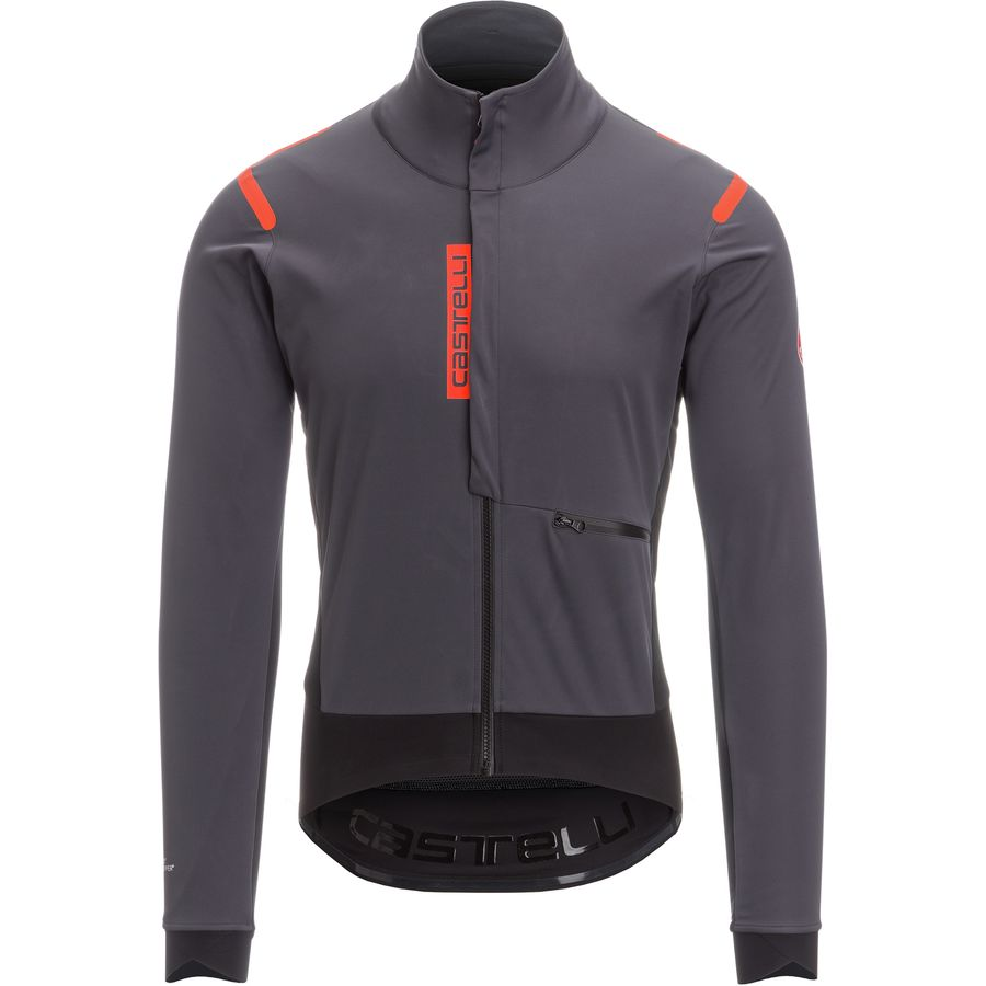 Castelli - Alpha ROS Jacket- Limited Edition - Men s - Anthracite Black b7a28fa9d