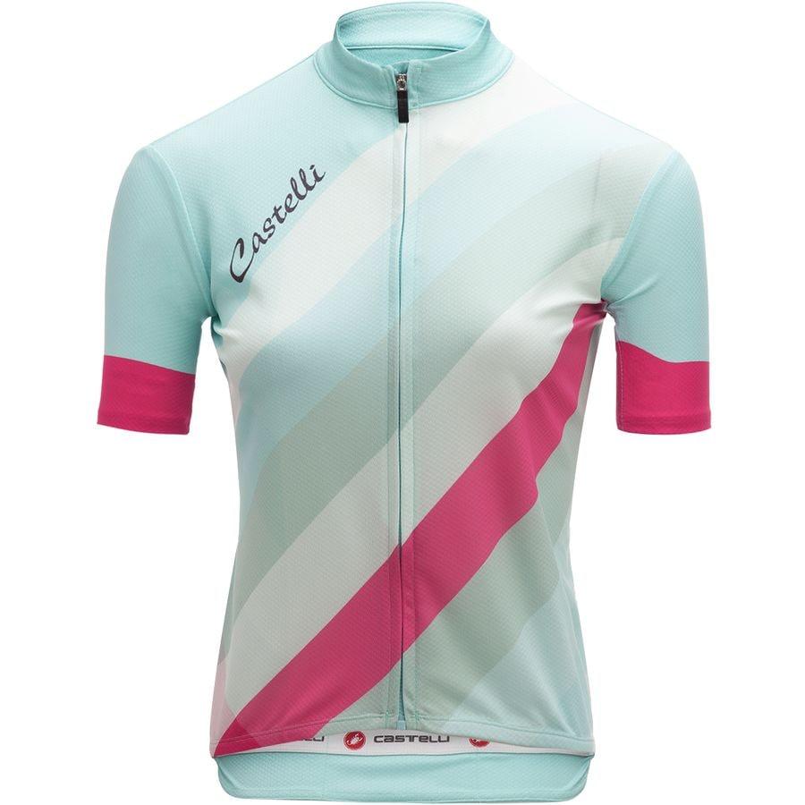 bike jersey striped womens castelli bike jersey cost charm 2228c ab4e0 360fb2809