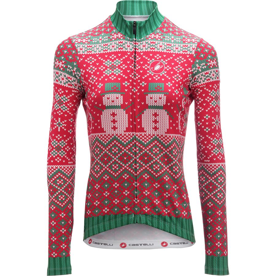 Castelli 2017 Holiday Sweater Long-Sleeve Jersey - Women's ...