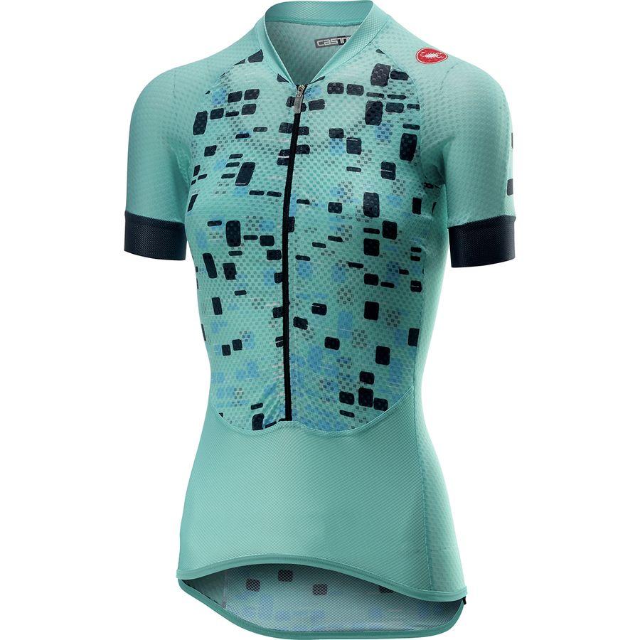 8af2e42ca Castelli - Climber s Short-Sleeve Jersey - Women s - Aruba Blue
