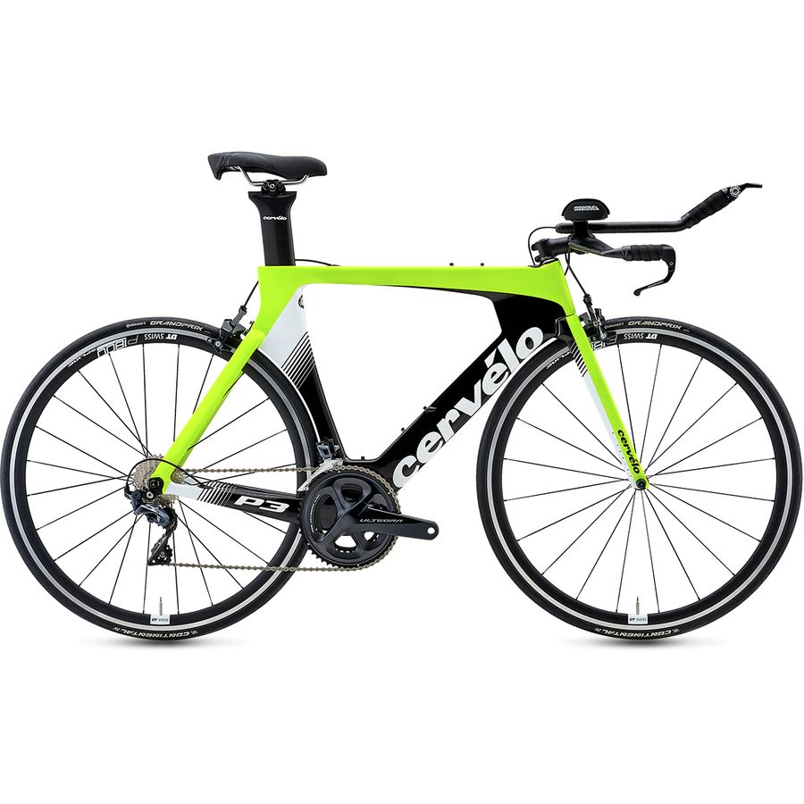 Cervelo - P3 Ultegra R8000 Road Bike - Fluoro/Black/White