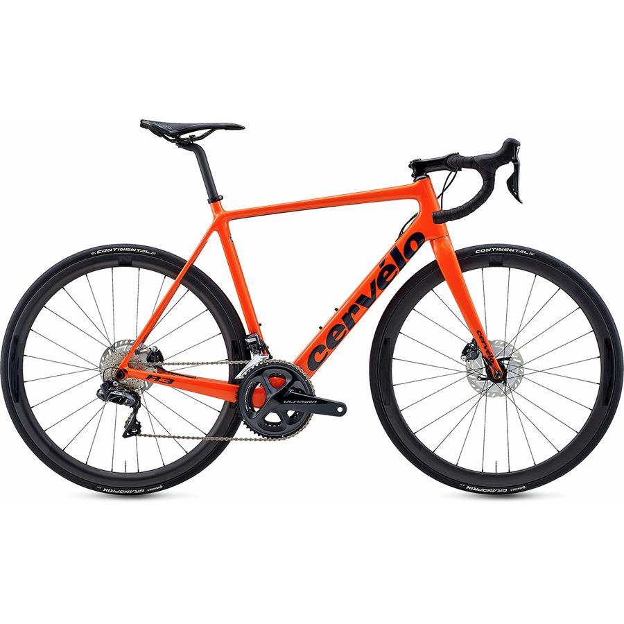 Cervelo - R3 Disc Ultegra Di2 R8070 Road Bike - Orange/Navy