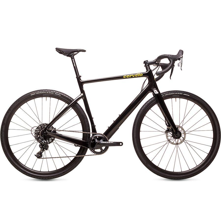 Cervelo - Aspero Apex 1x Gravel Bike - Black/Gold