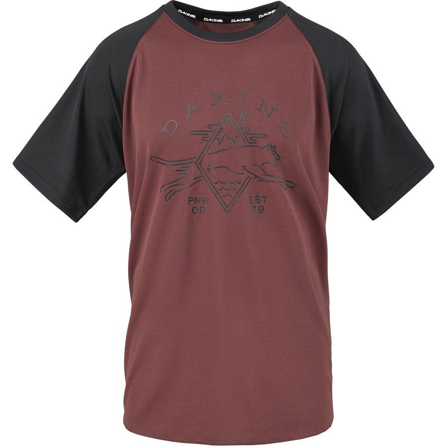 DAKINE - Dropout Jersey - Short Sleeve - Men s - Andorra Black 112f9b4b1