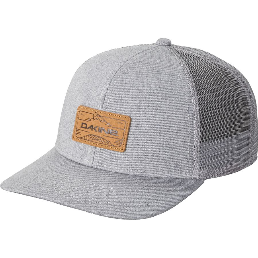 01abdc7890794 DAKINE - Peak To Peak Trucker Hat - Heather Grey