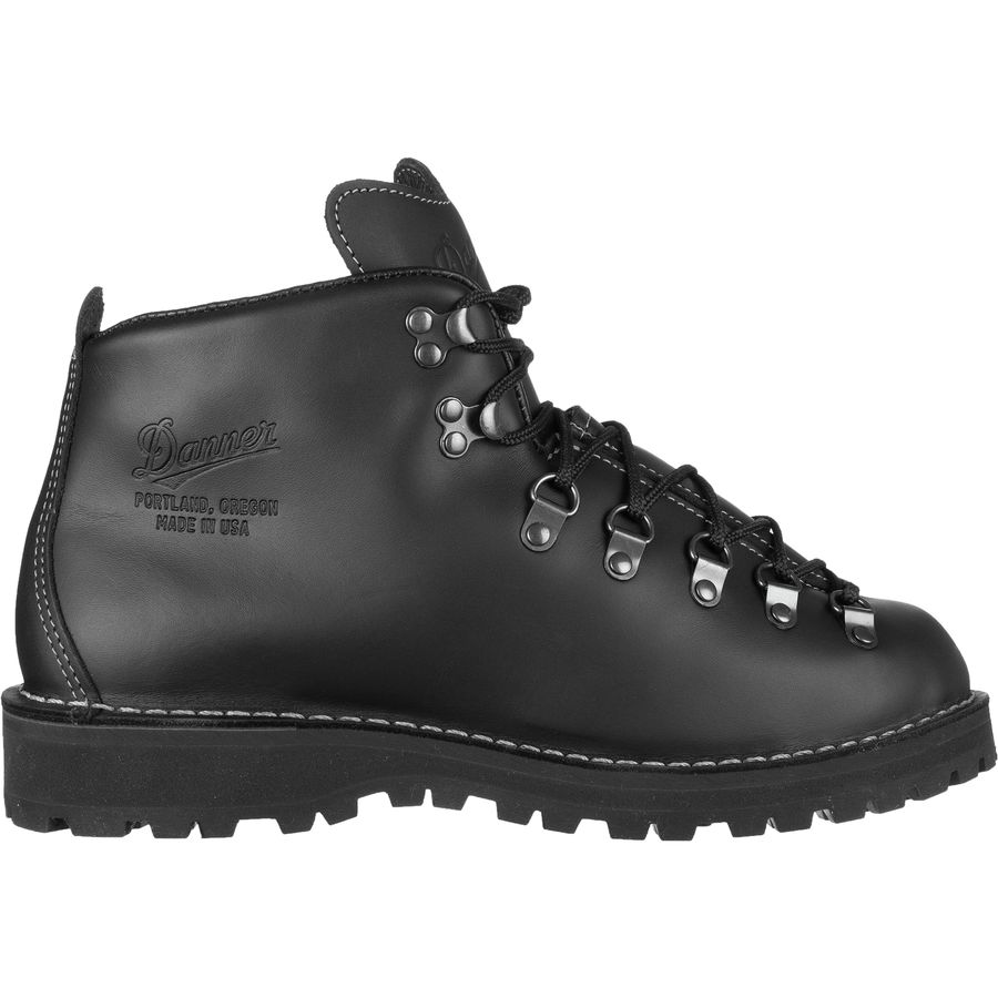 danner mountain light 2 hiking boot men 39 s black. Black Bedroom Furniture Sets. Home Design Ideas