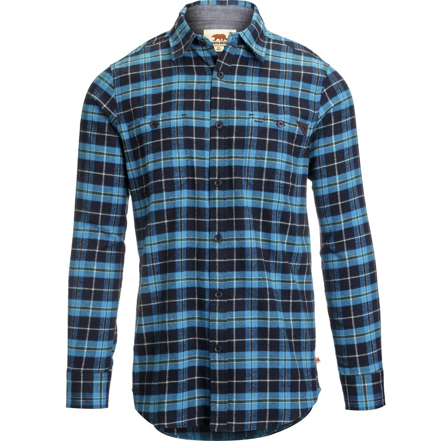 Dakota Grizzly Easton Flannel Shirt - Mens