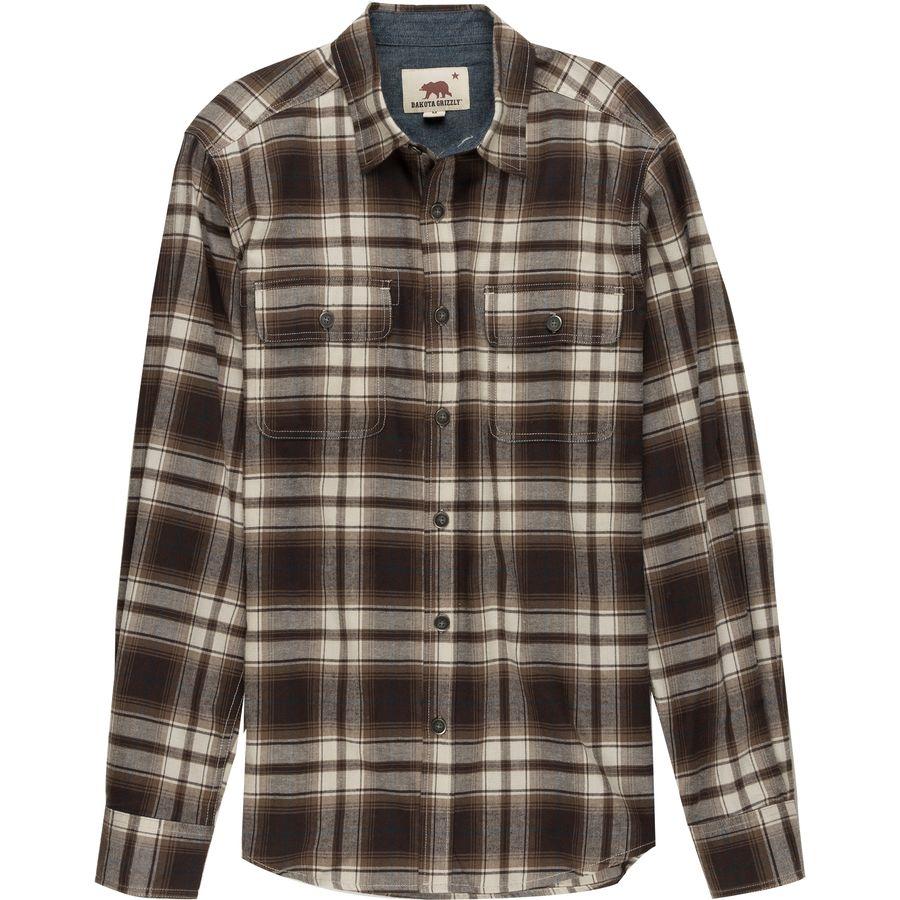 Dakota Grizzly Kendall Flannel Shirt Men 39 S Steep Cheap
