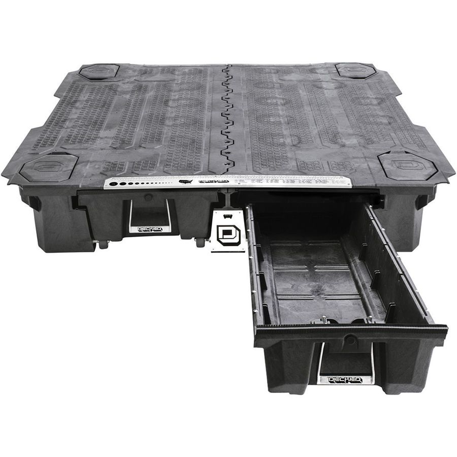 Decked Nissan Truck Bed System Backcountry Com
