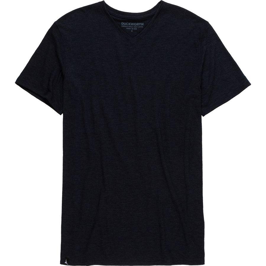 Duckworth Vapor Wool V-Neck T-Shirt - Mens
