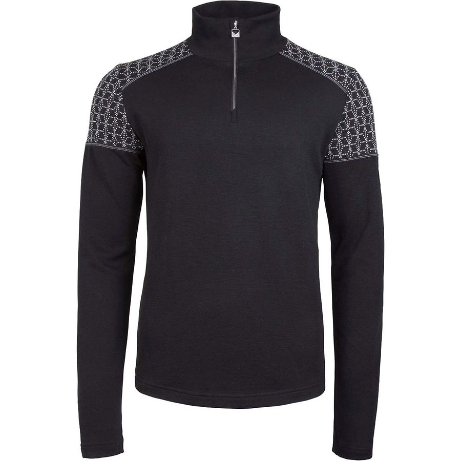 e70224134672 Dale of Norway - Stjerne Basic Masculine Sweater - Men s - Black Off White