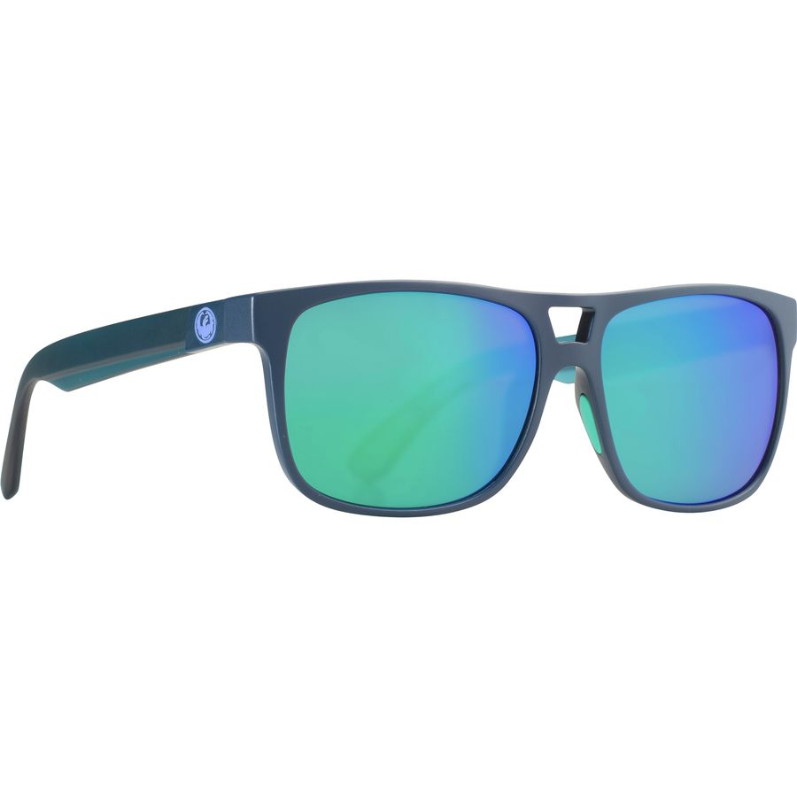 d43fdd136de Dragon - Roadblock Floatable Polarized Sunglasses - Matte Deep Navy Green  Ion
