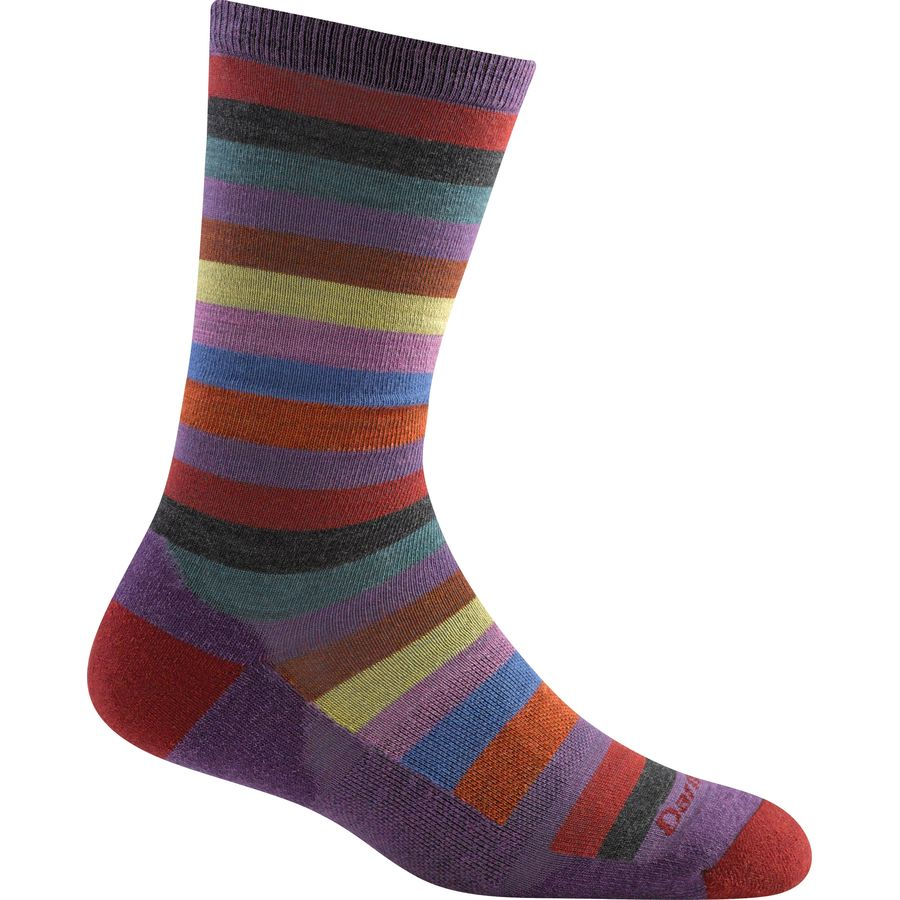 Darn Tough Phat Witch Light Cushion Crew Sock - Womens