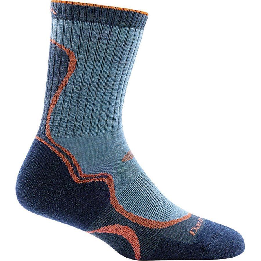 Darn Tough Merino Wool Light Cushion Micro Crew Socks - Womens