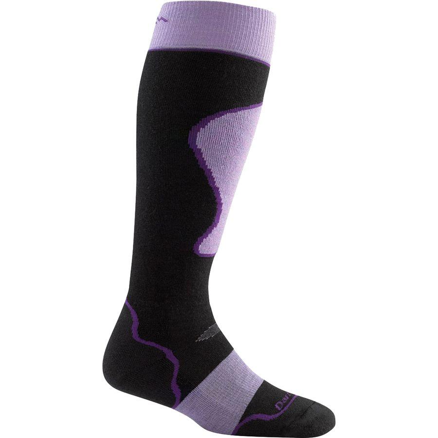 Darn Tough Merino Wool Over-The-Calf Padded Cushion Ski Sock - Womens