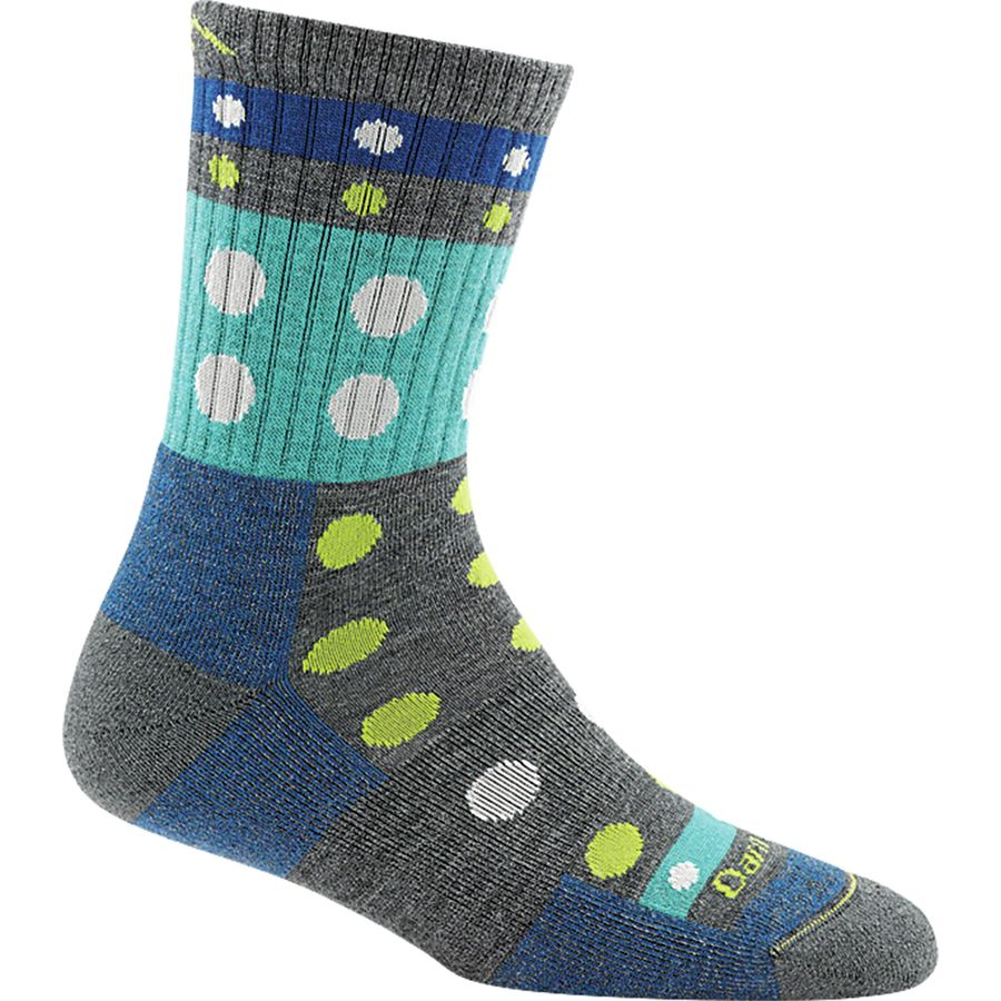 Darn Tough Blazes Micro Crew Cushion Sock - Womens