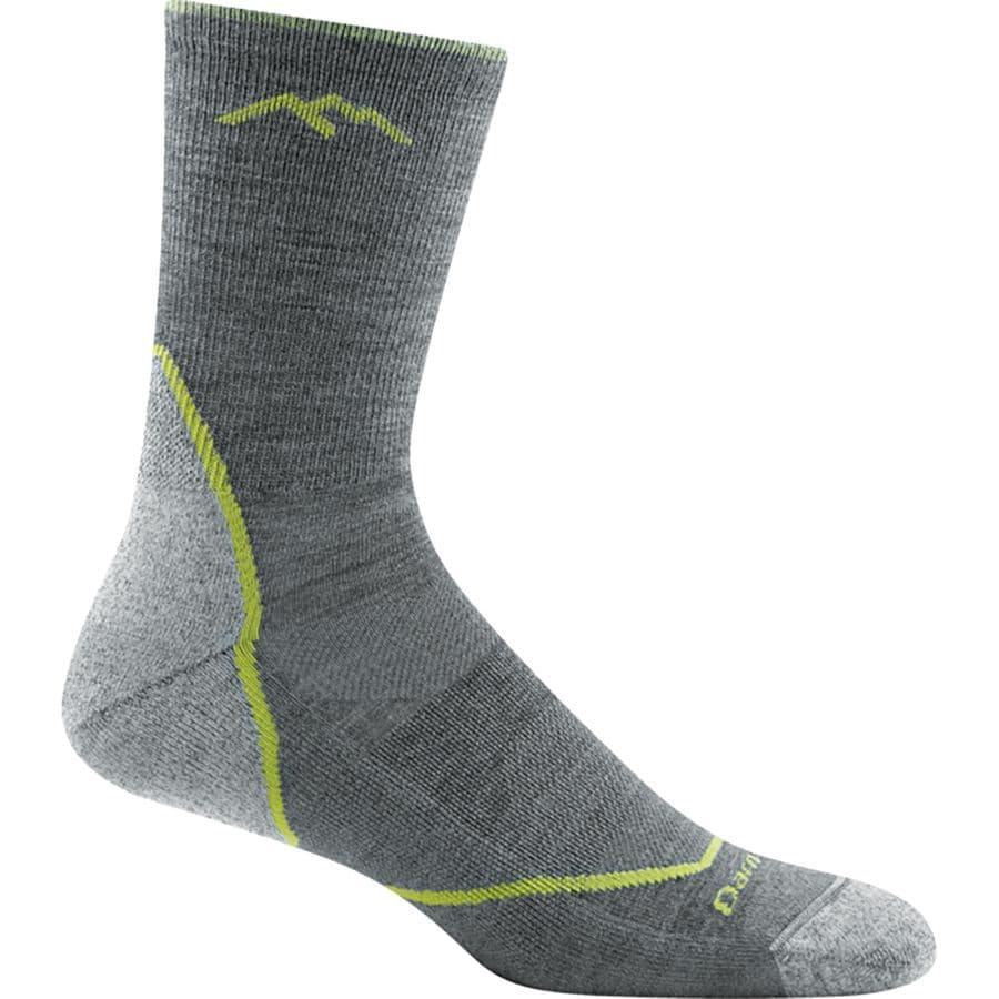 Darn Tough Mens Light Hiker Micro Crew Light Cushion Sock