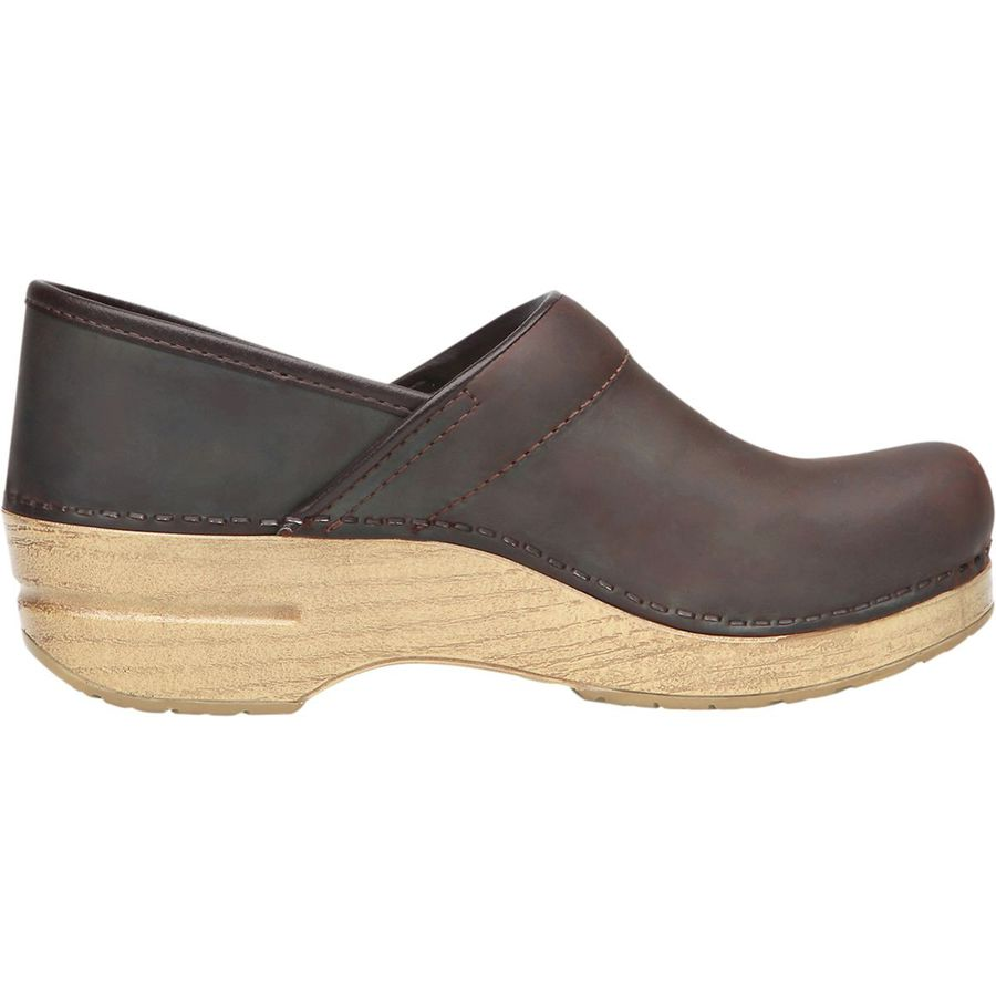 Dansko - Professional Oiled Clog - Women's - Antique Brown Oiled