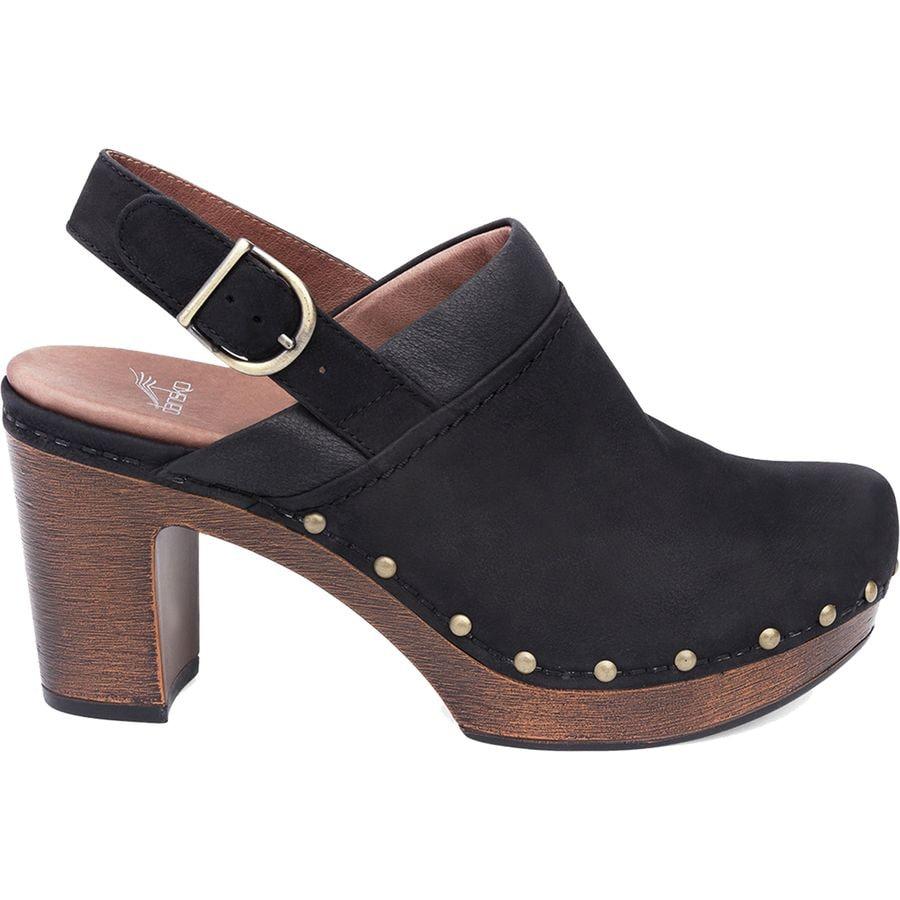 4cbe5f996406 Dansko - Delle Shoe - Women s - Black Milled Nubuck