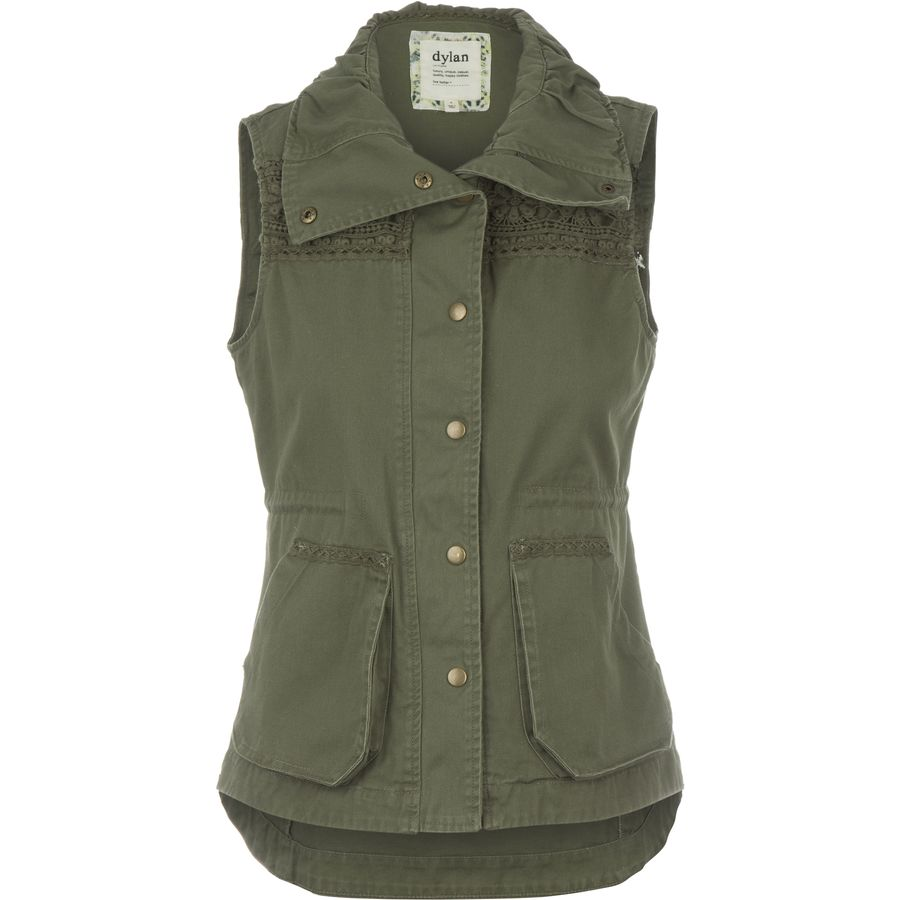 Dylan Echo Canyon Pocket Cargo Vest - Womens