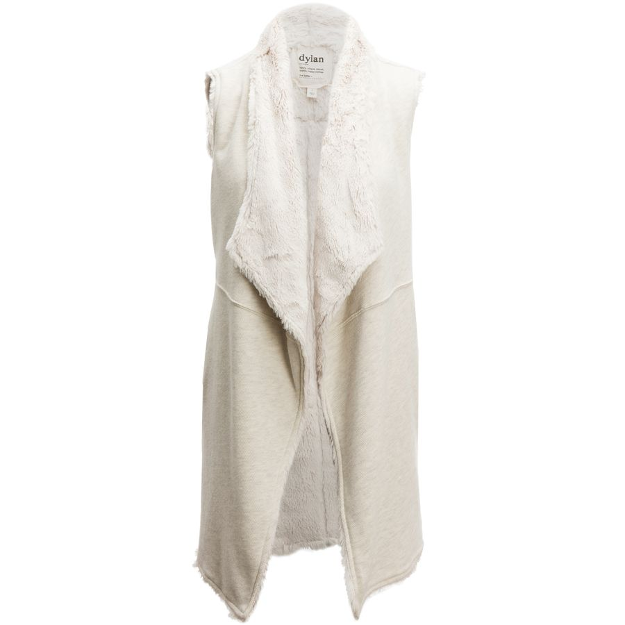 Dylan Long Vest with Lining - Womens