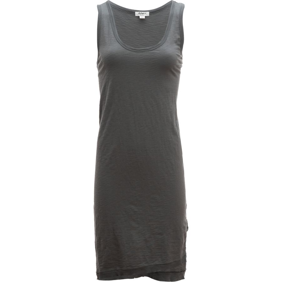 Dylan Summer Slub Slit Tank Dress - Womens