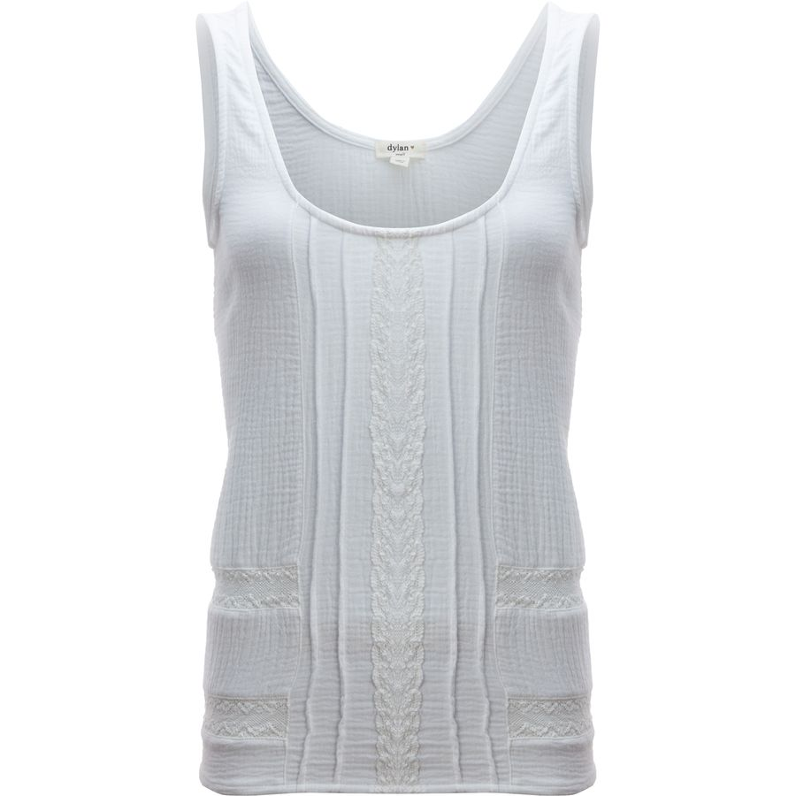 Dylan Summer Gauze Caravan Crochet Tank Top - Womens