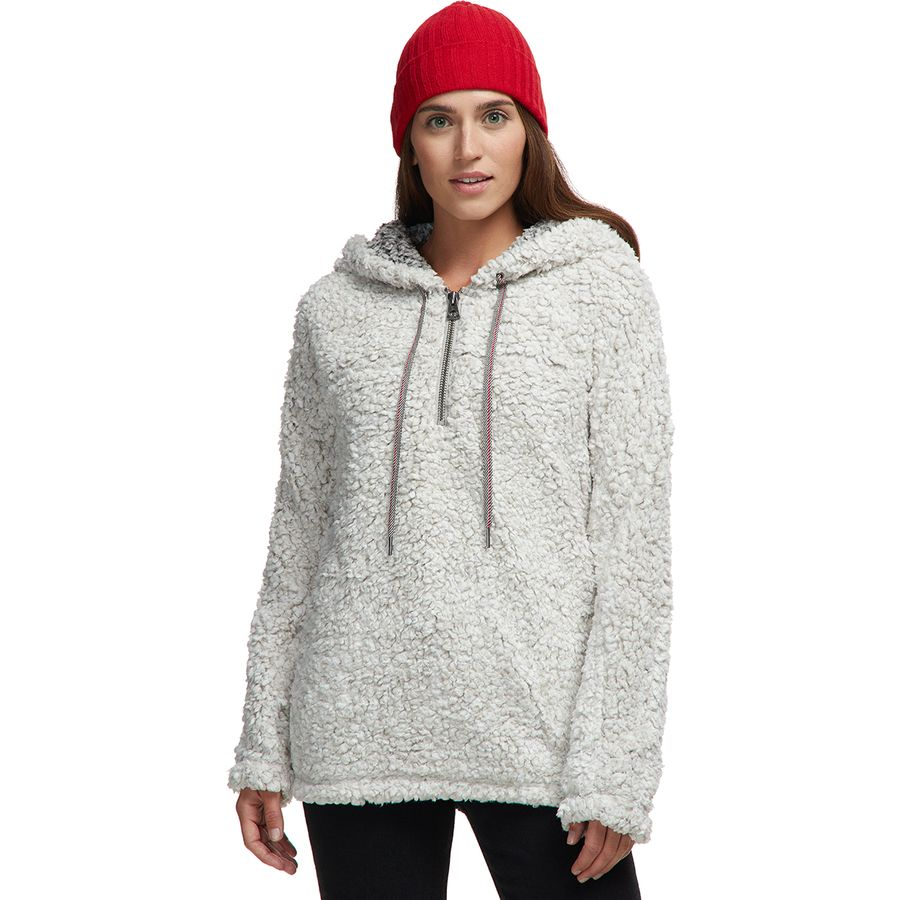 Dylan Frosty Tipped Pile Stadium Hoodie - Womens