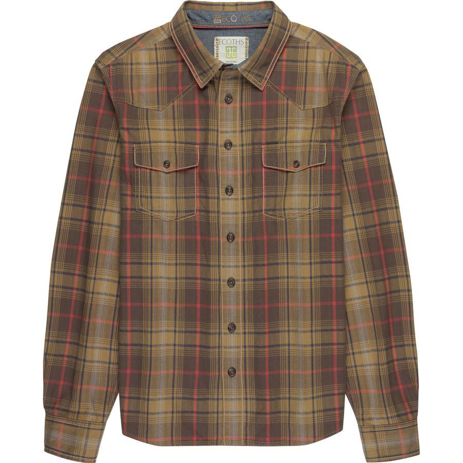 Ecoths Tucker Button-Up Shirt - Mens