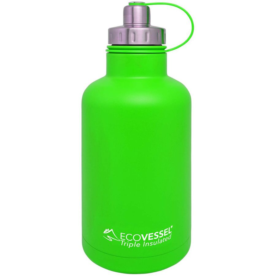 Eco Vessel Boss Triple Insulated Growler 63oz Up To 70