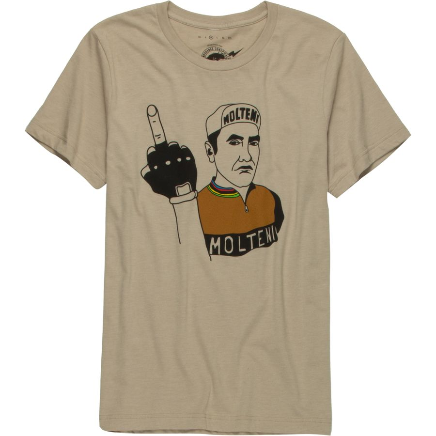 Endurance Conspiracy Eddy Rode Steel T-Shirt - Mens