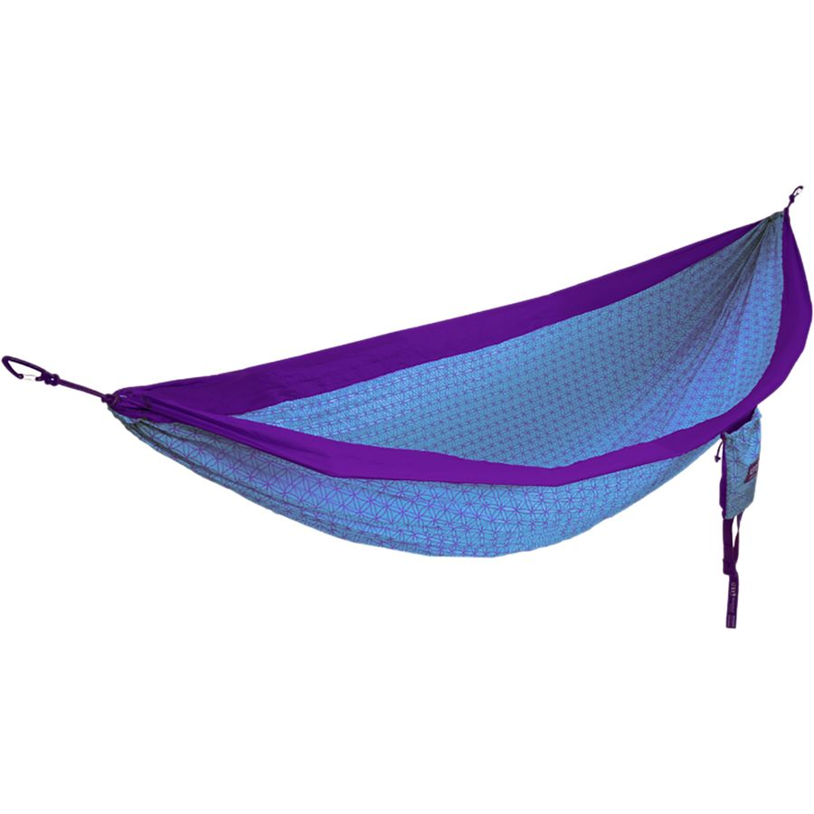 eagles nest outfitters   doublenest flower of life hammock   purple teal eagles nest outfitters doublenest flower of life hammock      rh   backcountry