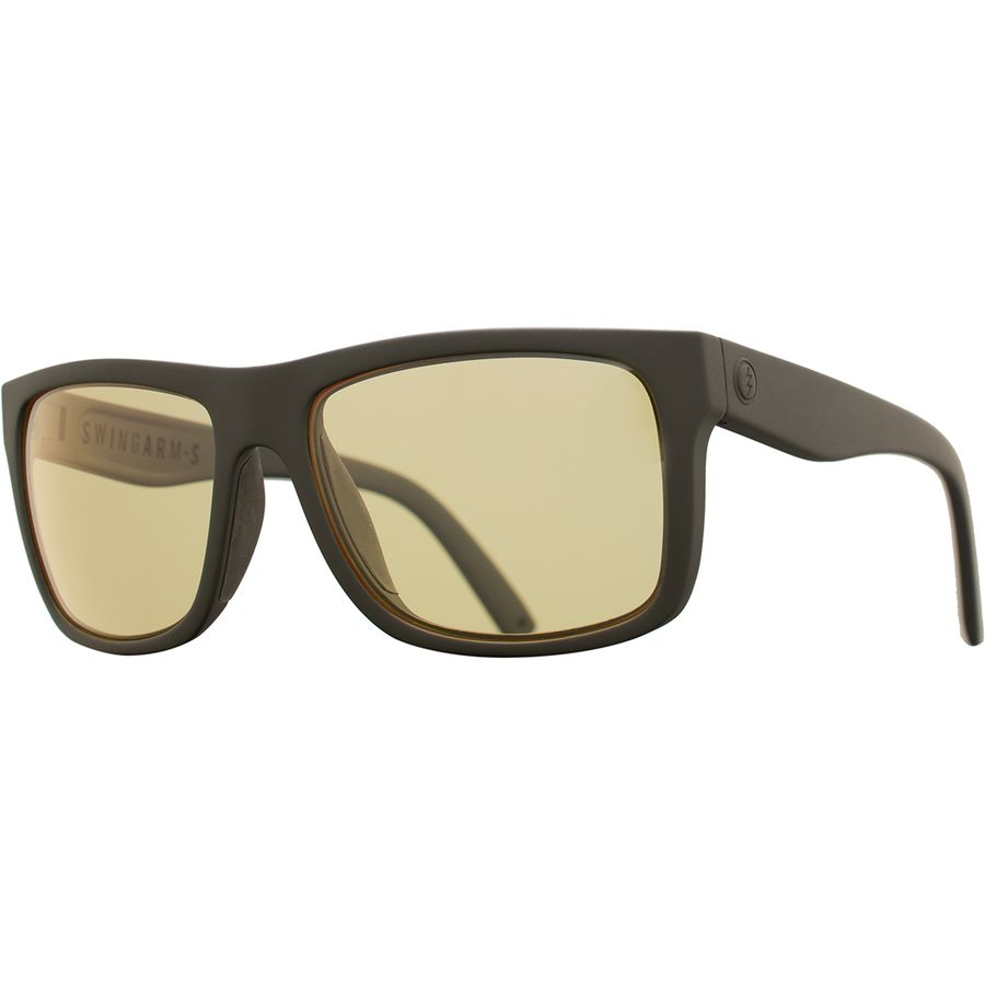 Electric - Swingarm S Sunglasses - Matte Black Ohm Plus Clear 47329b7df1