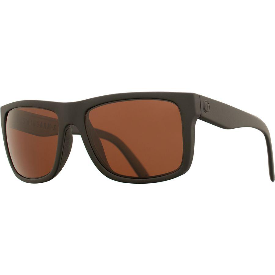 d8cb56bb067 Electric - Swingarm S Polarized Sunglasses - Matte Black Ohm Plus Polar Rose