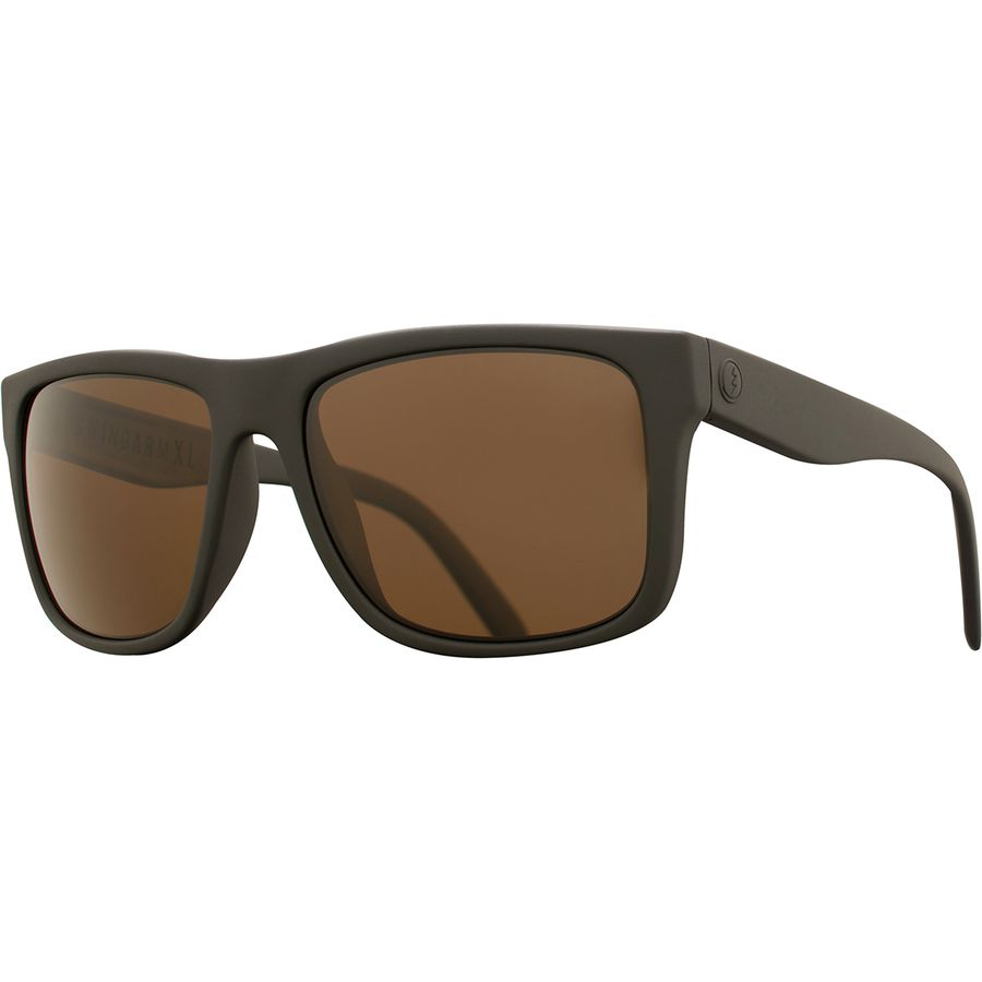 c0688d2bd398f Electric - Swingarm Polarized Sunglasses - Men s - Matte Black Ohm Polar  Bronze