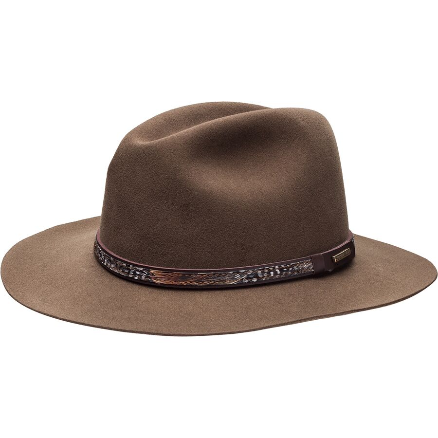 Stetson Hats Jackson Fedora Black