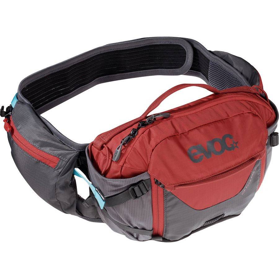 Hip pack with water bladder
