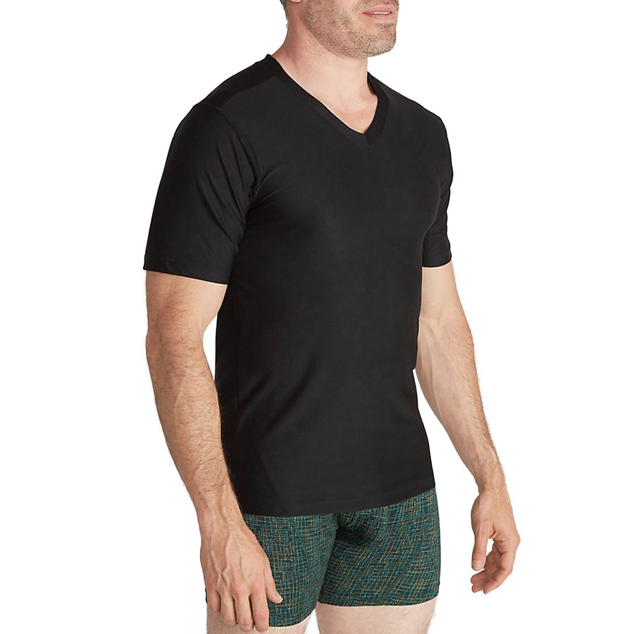 Black t shirts v neck - Exofficio Give N Go V Neck T Shirt Men S