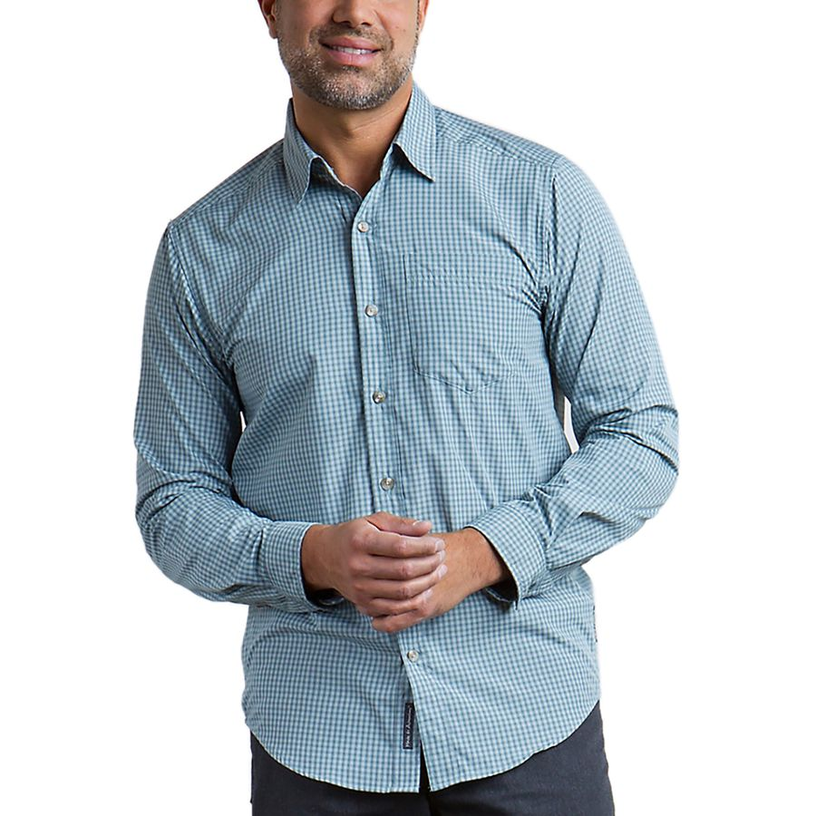ExOfficio Salida Plaid Shirt Long-Sleeve - Mens