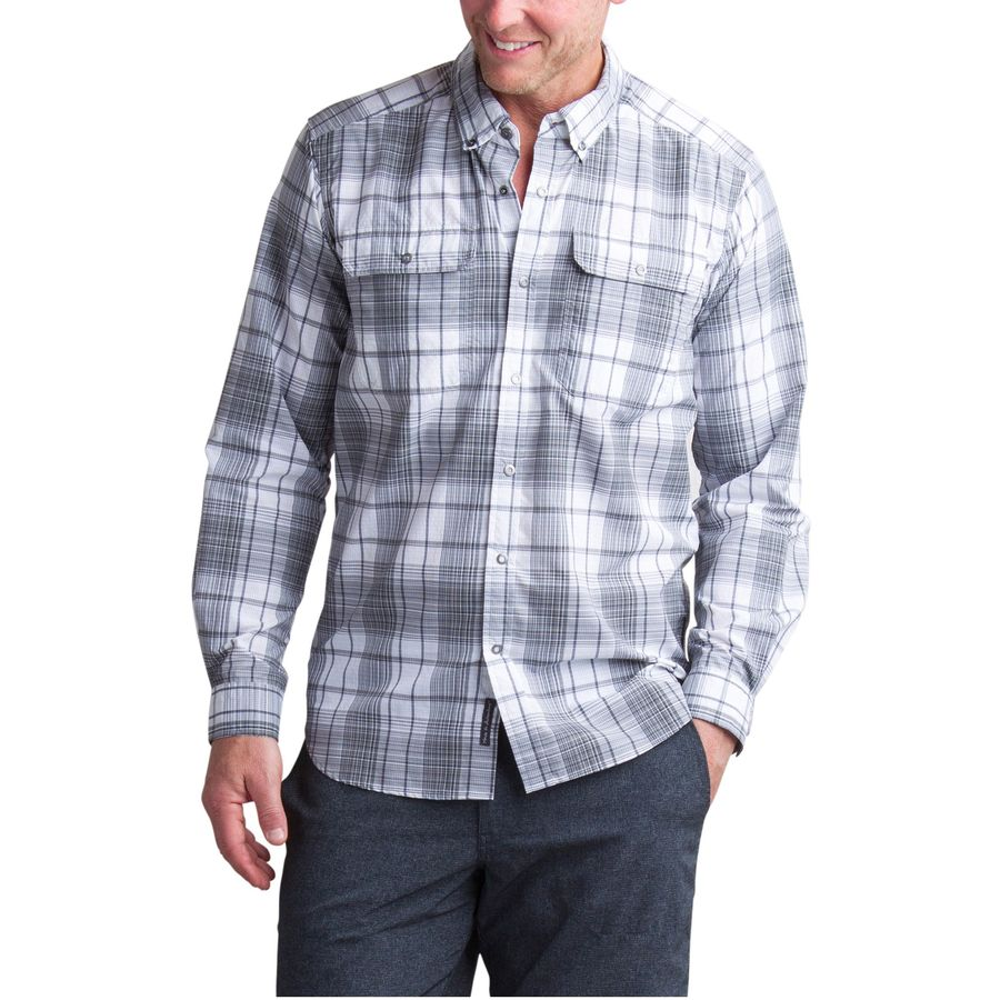 ExOfficio Ventana Long-Sleeve Plaid Shirt - Mens