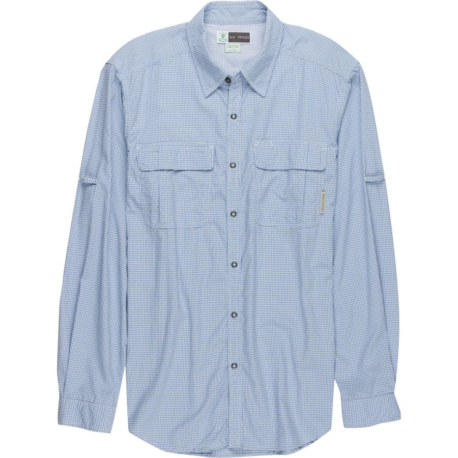 ExOfficio BugsAway Halo Check Shirt - Mens