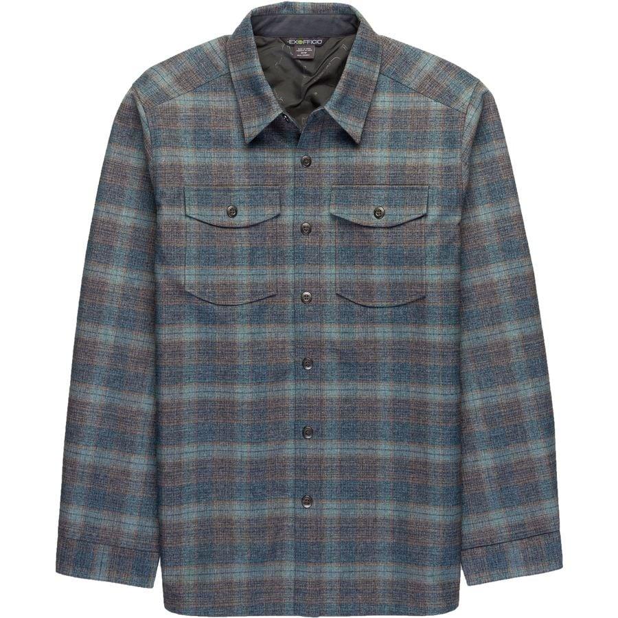 ExOfficio Bruxburn Plaid Shirt - Long-Sleeve - Mens